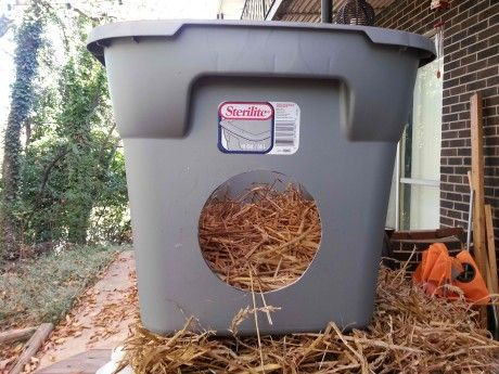 Take action! This is a way to help feral cats in your neighborhood. Learn How to Make the Cheapest and Easiest Cat Shelter for Winter (PHOTOS)