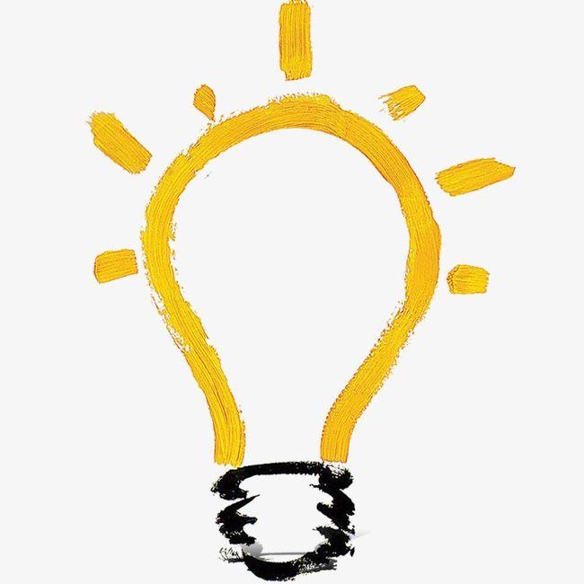 لمبة مصباح مصباح مرسومة باليد لمبة الرسم Png وملف Psd للتحميل مجانا Bullet Journal Diy Business Cards Simple Painting Lamps