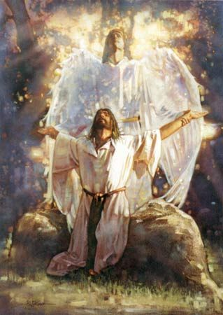 christian artwork images | Christian art, Christian art, In the garden, by Ron Dicianni