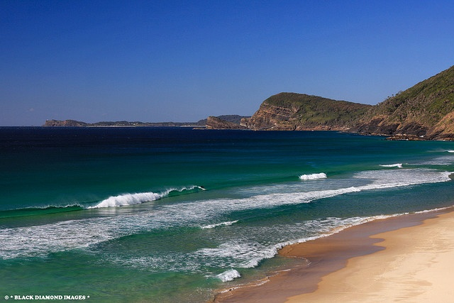 Blueys Beach - Pacific Palms, NSW, Australia    Copyright - All Rights Reserved - Black Diamond Images