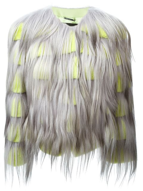 Shop Giorgio Armani fur short shaggy coat in Stefania Mode from the world's best independent boutiques at farfetch.com. Shop 300 boutiques at one address.