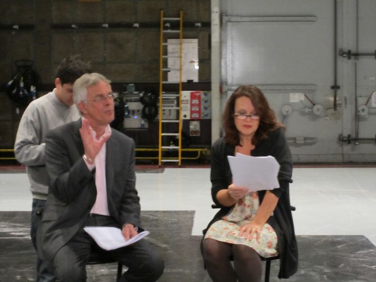 Moira Brooker | Philip Bretherton and Moira Brooker at script readthrough 1 | Flickr ...