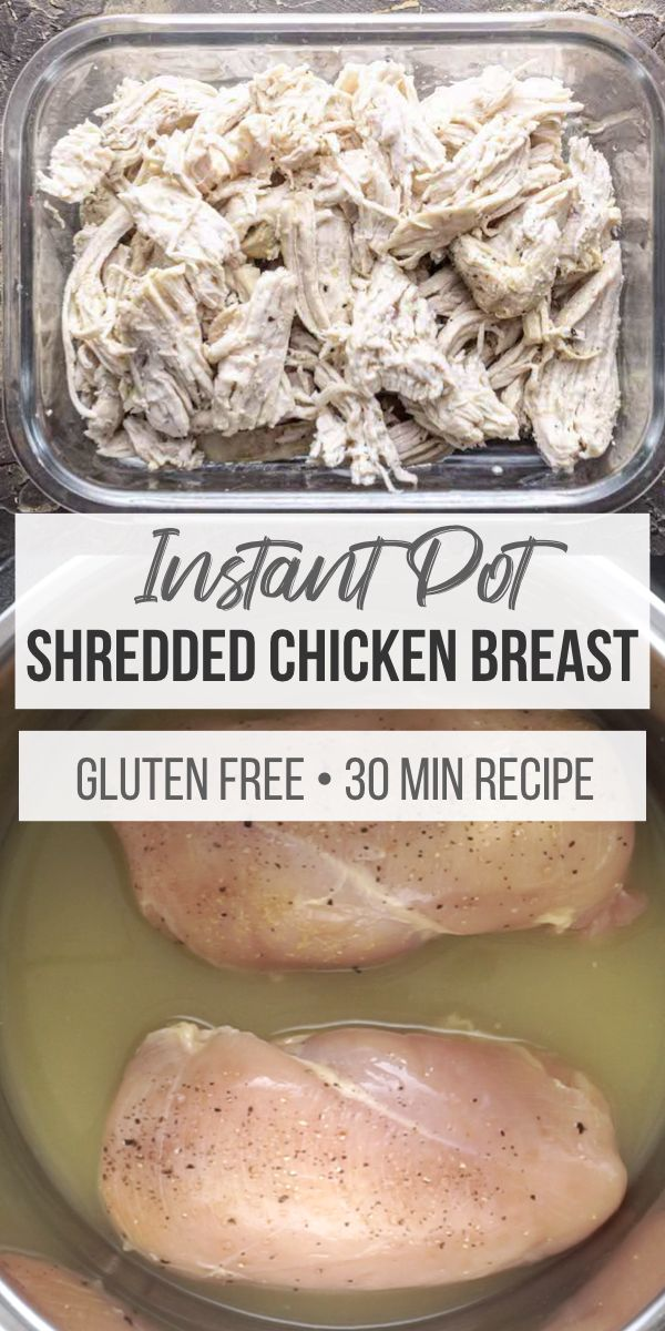 How Long To Cook Frozen Chicken Breast In Instant Pot Instant Pot Shredded Chicken Fresh Or Frozen Recipe In 2020 Ways To Cook Chicken Recipes Shredded Chicken