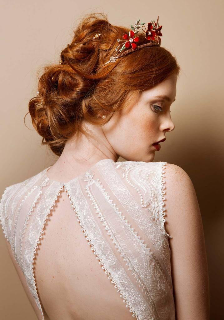 Claire Pettibone Solstice Designer Wedding Dress Pin Discovered