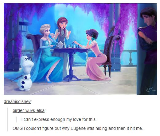 Frozen and Tangled Love