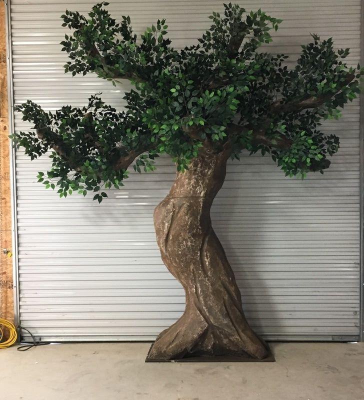 Program Tree Props Fake Trees Cardboard Tree