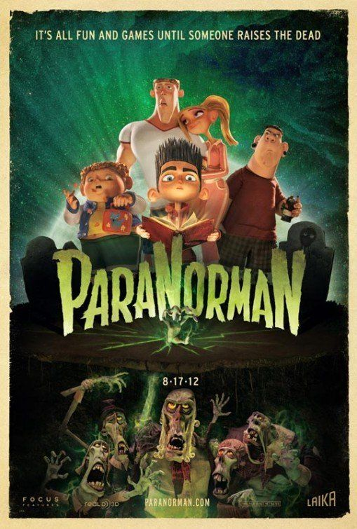 ParaNorman  The story is good, but the puppets and the animation is just fantastic!