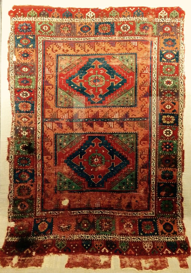 in the Carpet Museum, Istanbul, Turkey