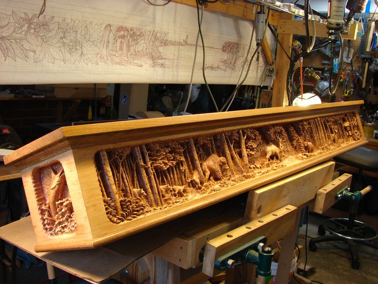 custom woodcarving - carved fireplace mantels - http://www ...