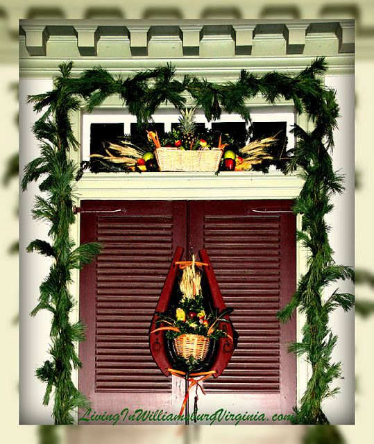 Christmas Decorated House Alexandria Va: 47 Best Images About COLONIAL CHRISTMAS On Pinterest