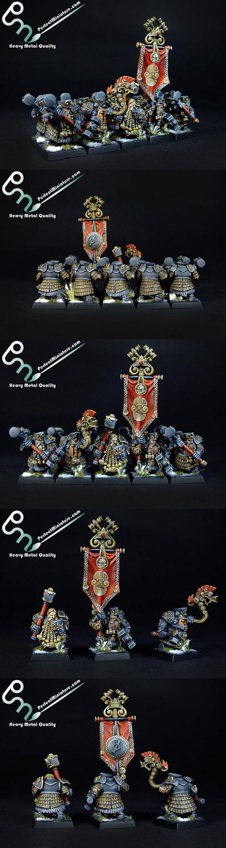 Dwarf Hammerers - perfectminiature.com