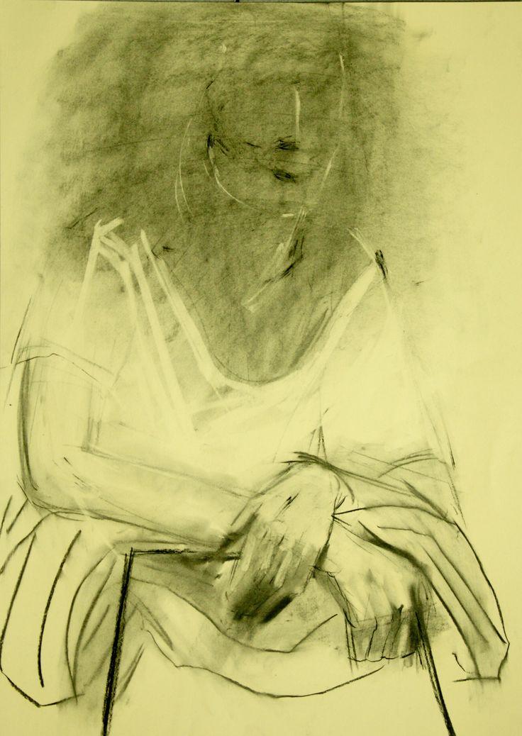 """Przejrzyj mój projekt w @Behance: """"Figure drawing""""…"""