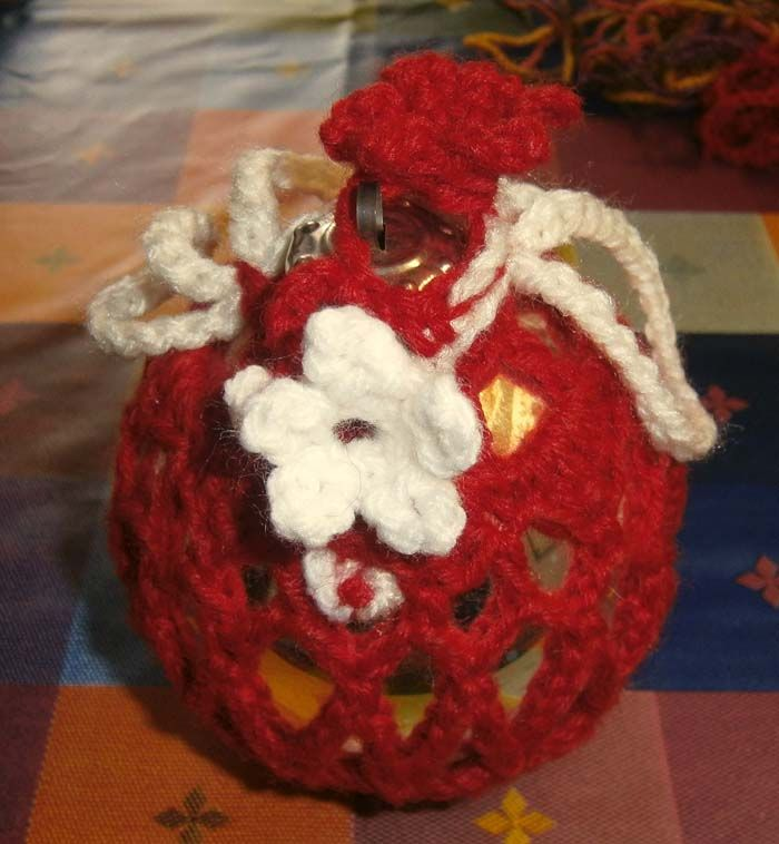 Christmas ball crochet