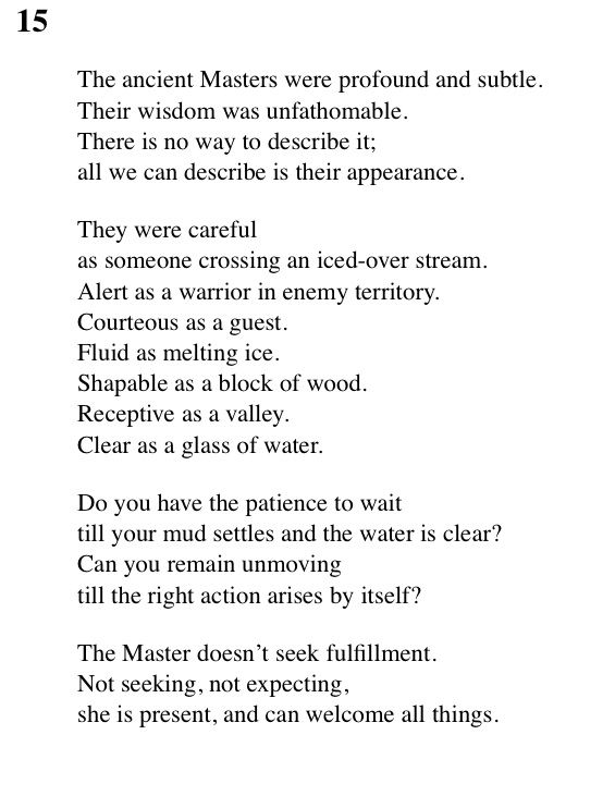 """""""The Thoughts from the Tao Te Ching"""" by Lao Tzu Essay Sample"""