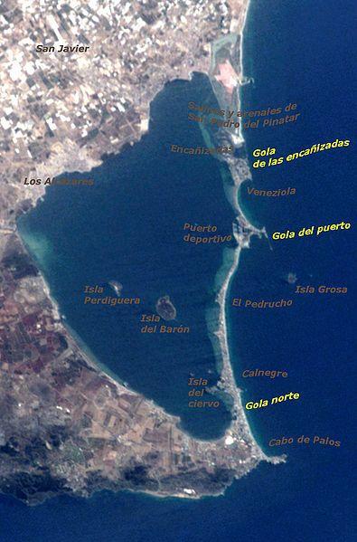La Manga del Mar Menor, Murcia, España
