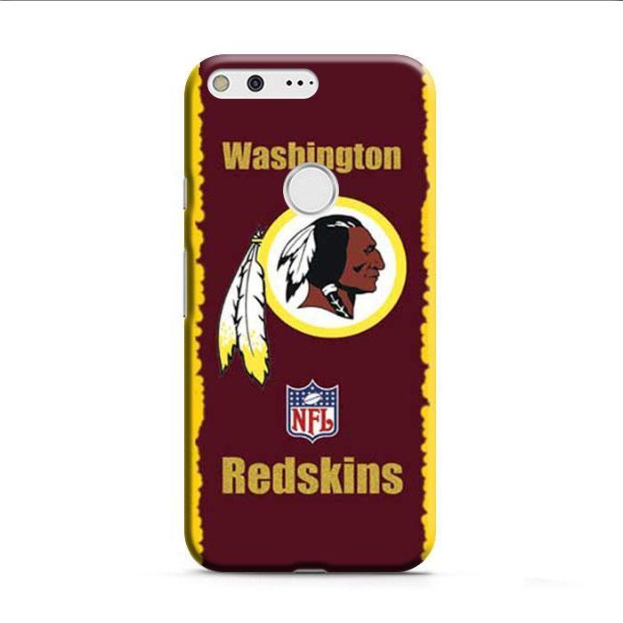Washington Redskins Logo Yellow Red Google Pixel XL 3D Case