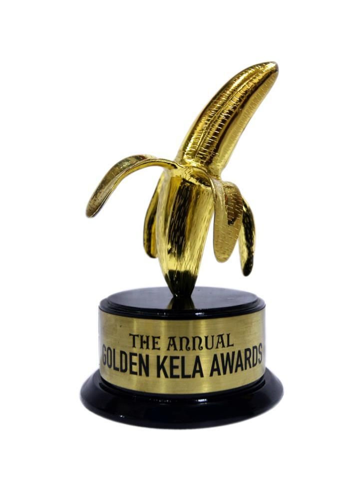 "#GoldenKelaAwards2014 Nominations Here are the nominations for this years ""Golden Kela Awards"" (#Bollywood''s Golden Raspberry Awards) for the worst performances in Bollywood this year. Guess Who will be the Winner of Golden Kela Awards"