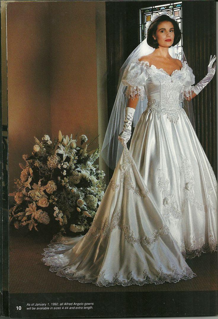 Alfred Angelo Wedding Dresses 1980