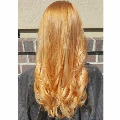 how to get strawberry blonde hair
