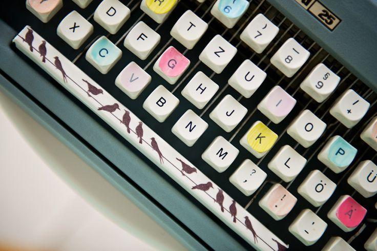 Washi tape typewriter / washi keyboard