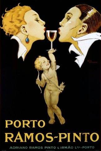 Porto Ramos-Pinto | Vintage food & drink poster | Retro advert #Vintage #Retro #Posters #Affiches #Food #Drinks #Carteles #deFharo #Ads