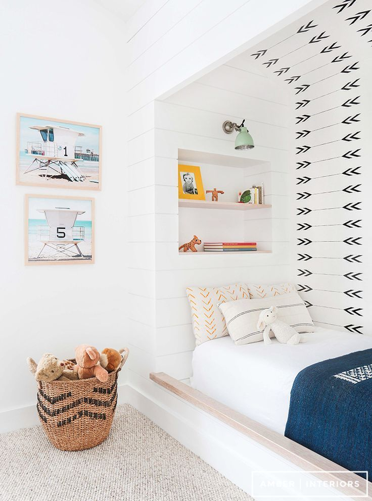 Bright kids room | Southwestern Inspired | Arrow Pattern Wall