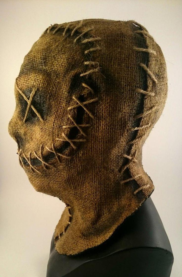 Hecho a mano Halloween horror Burlap máscara Etsy in