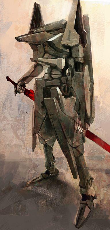 Knights of Sidonia Tsugimori by Aberzheim.deviantart.com on @deviantART http://aberzheim.deviantart.com/art/Knights-of-Cydonia-Tsugimori-139437278 Tsutomu Nihei #Anime #Manga