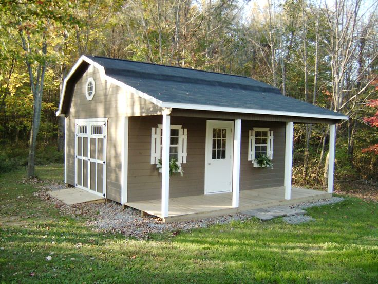porchbarns by miller barns distributed by amish buildings - Garden Sheds Ohio