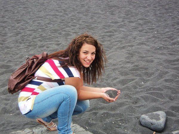 Puerto de la Cruz! Tenerifa... Beach! Arena negra!