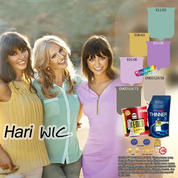 Hari WIC, Woman International Club #Trend #Lifestyle #EMCOPaint http://matarampaint.com/detailNews.php?n=357