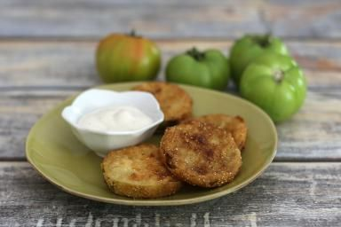 Easy Fried Green Tomatoes - Photo Credit: Diana Rattray
