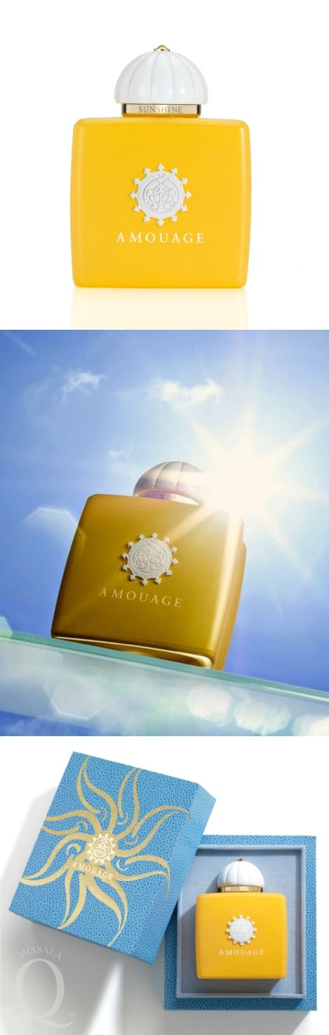 Amouage   SUNSHINE for Woman /new/ Bright and joyful, the first Eau de Parfum in the 'Midnight Flower Collection' #Amouage #Sunshine