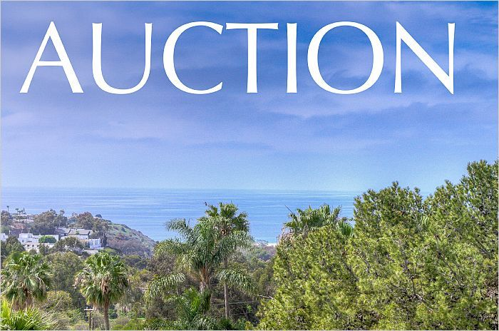 MALIBU, CA AUCTION - JUNE 7 AT NOON --> http://emailflyers.net/37277