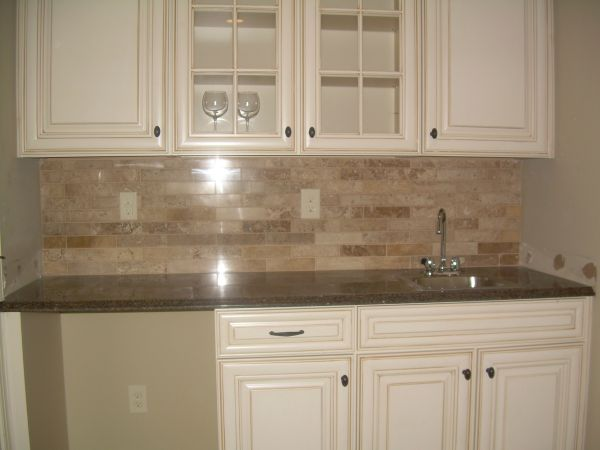 Kitchen Backsplash End Of Counter