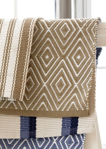 Dash Albert Diamond Khaki And White Indoor Outdoor Rug Layla Grayce Rugs Outdoorrugs For Home Pinterest