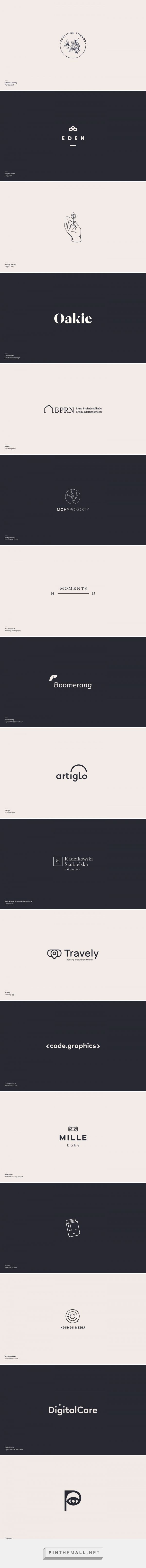 Logo collection 2015—2017 on Behance created via s pinthemall
