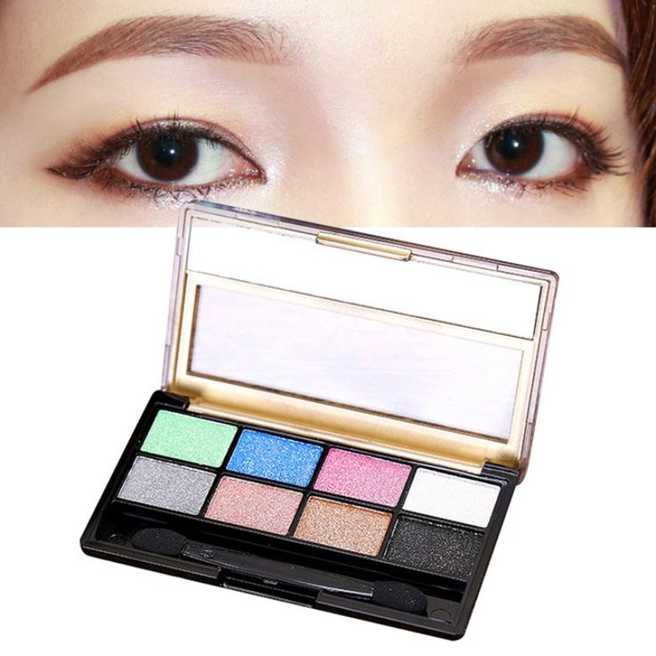 Make up Earth Tone 8 Colors Eyeshadow Palette Naked Palette maquiagem Long-lasting/Natural/Brighten Shimmer Eye Shadow Compact #Affiliate
