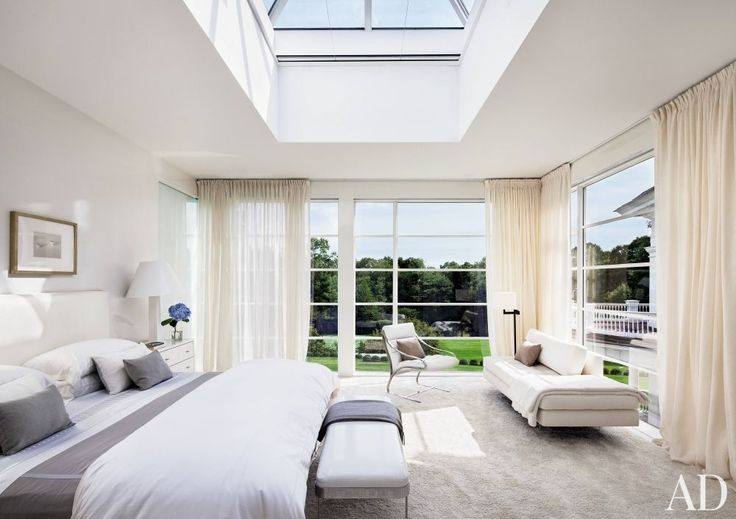 Modern Bedroom by Victoria Hagan Interiors and Allan Greenberg Architect in Greenwich, Connecticut
