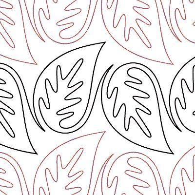 "Tropical Leaves - Paper - 6.5"" U10-SAM-TPL"