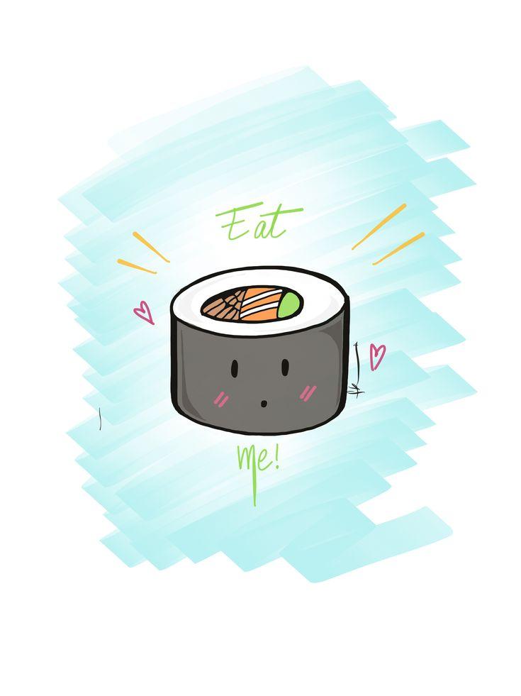 Eat me! At Mr.Sushi