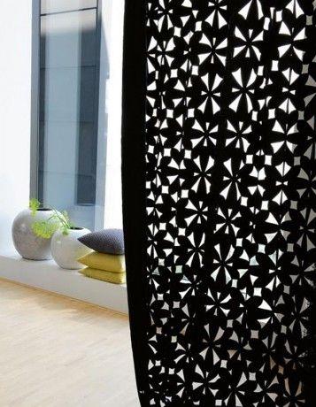 """rideau, tissus """"Rosalie"""", création Baumann - 40 idées de rideaux pour faire rêver vos fenêtres"""