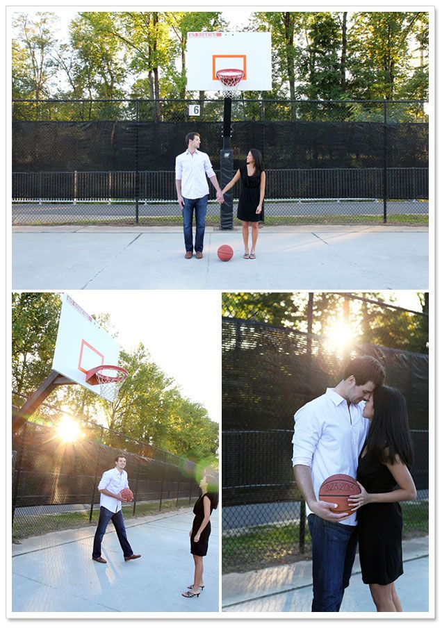 North Carolina State University Engagement by QuoteLife Photography | Borrowed & Bleu