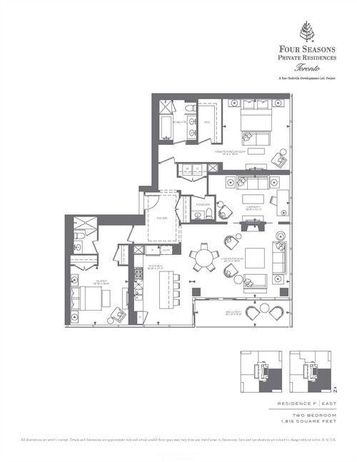 酒店方案~四季酒店公寓(多伦多) - 酒店空间_Ly2_美国室内设计中文网博客