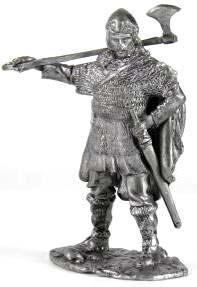 Воин отряда телохранителей конунга, 9 век   Оловянная история