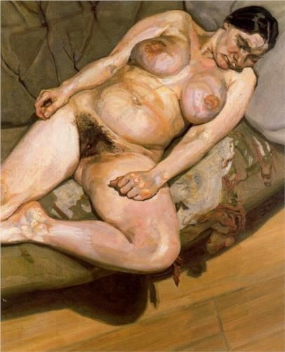 Naked Portrait - Lucian Freud