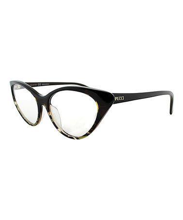 Look at this #zulilyfind! Griffon & Brown Cat-Eye Eyeglasses #zulilyfinds