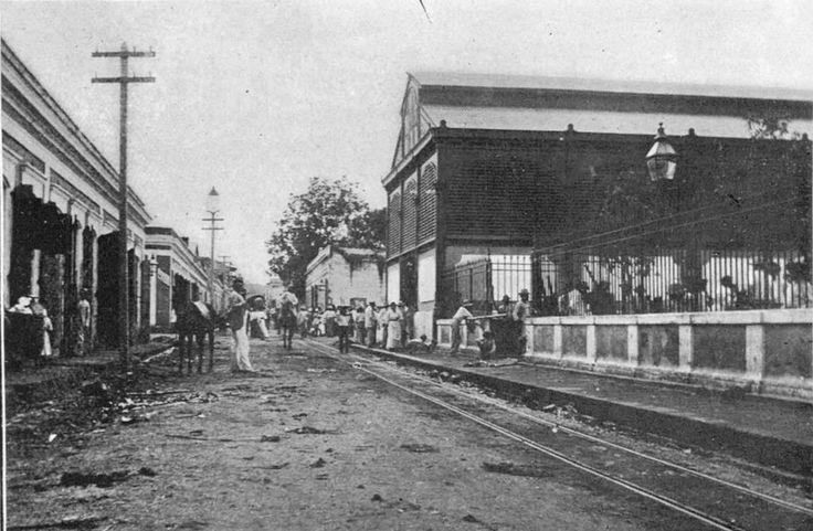 Mayaguez Puerto Rico Historical Sites | Mercado de Mayaguez 1889-1899 | Puerto Rico History in Photos ...