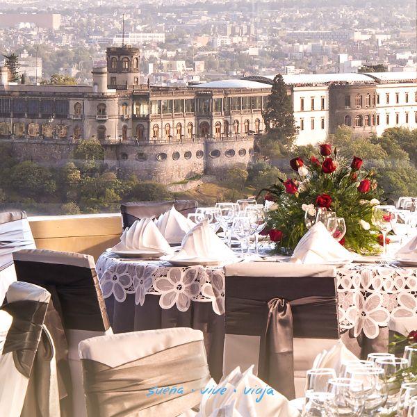 El Castillo de Chapultepec, también llamado Museo Nacional de Historia es uno de los lugares primordiales por visitar.