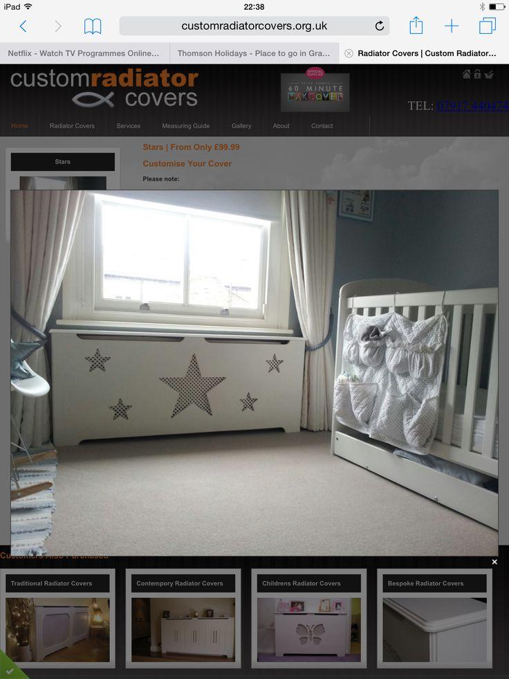 Kids Radiator Cover..... http://www.customradiatorcovers.org.uk/product-details.php?prodName=Stars